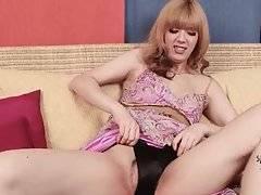 Sexy Ladyboy Noa Lijima Starts Solo Scene 3