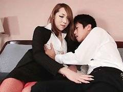 Asian T-Girl And Her Friend Free Their Lust 1