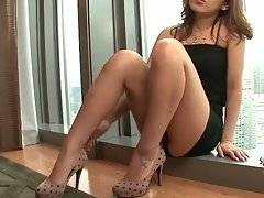 Slutty Ladyboy Wants To Please You With Her Solo 2